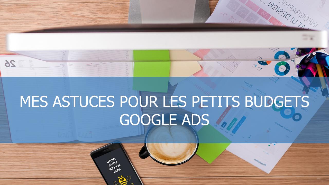 illustration de l'article sur mes astuces pour gérer les petits budgets google ads