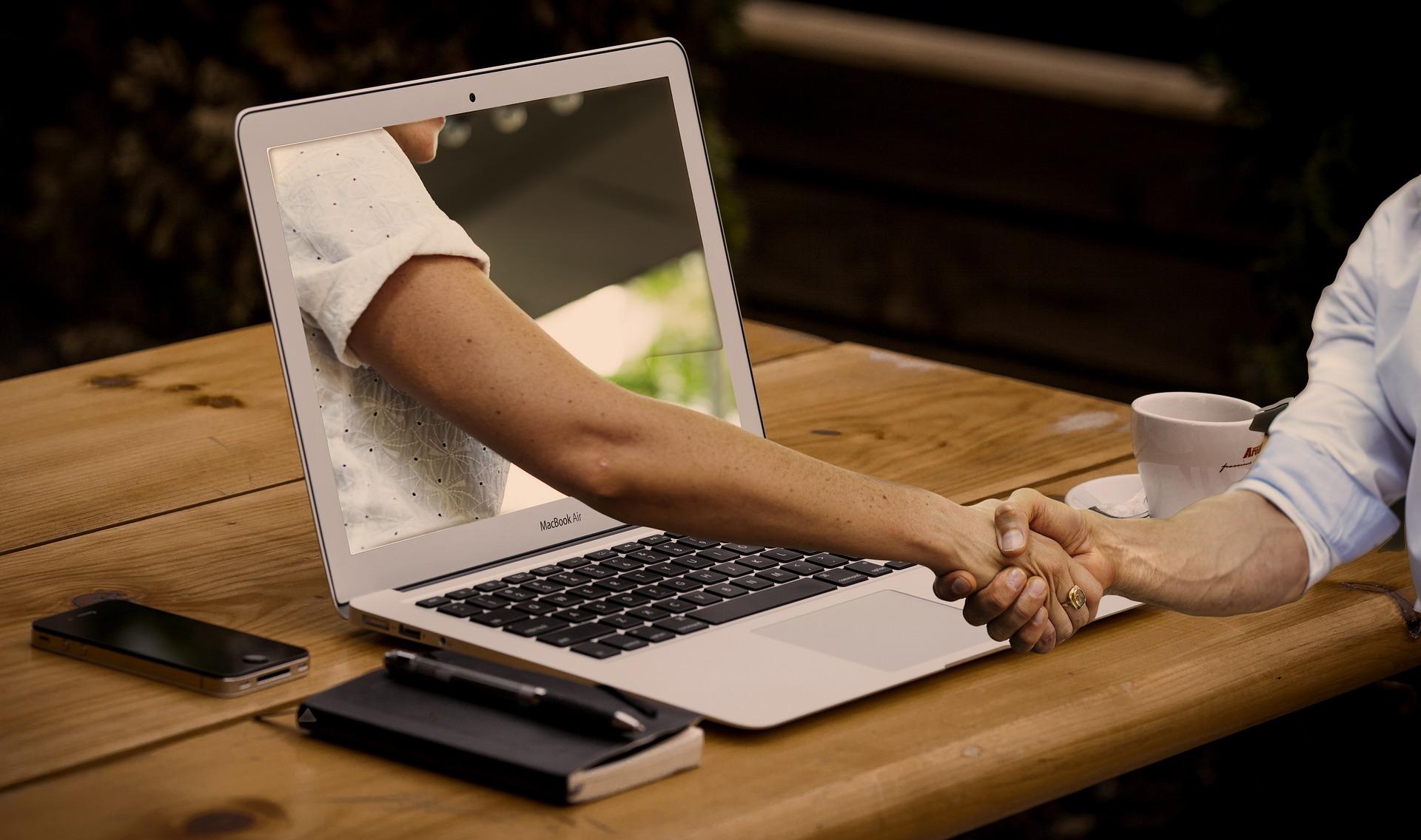représente la rencontre entre un freelance et un client